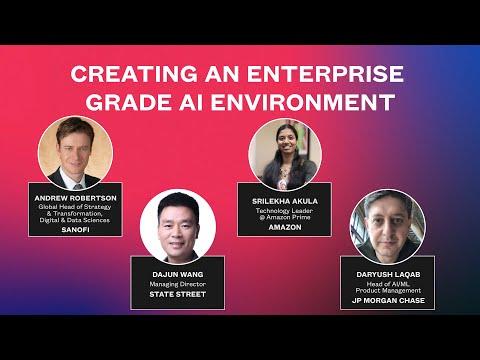 Creating An Enterprise Grade AI Environment