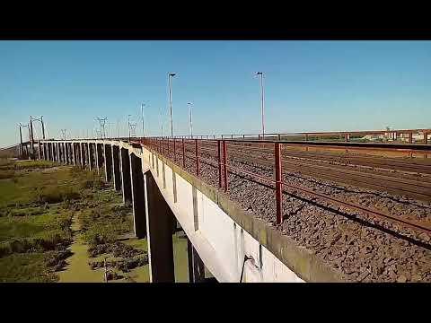 General Motors G22 7923CW Trenes Argentinos Cargas Ferrocarril Urquiza 18/09/17