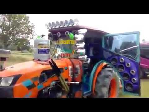 Kubota  tractor sound system Show