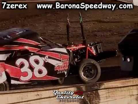 Stock Pony Heat 1 Barona Speedway 6-17-2017
