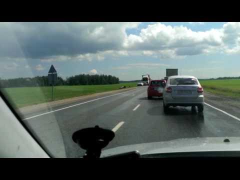 Авария на дороге Южноуральск-Челябинск 4 июля 2017 год