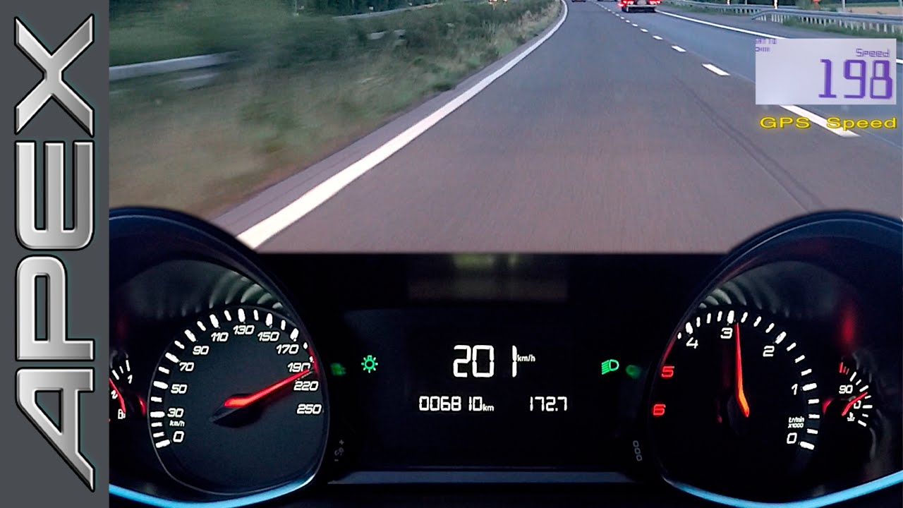peugeot 308 sw 1.6 bluehdi 120 - full throttle - youtube
