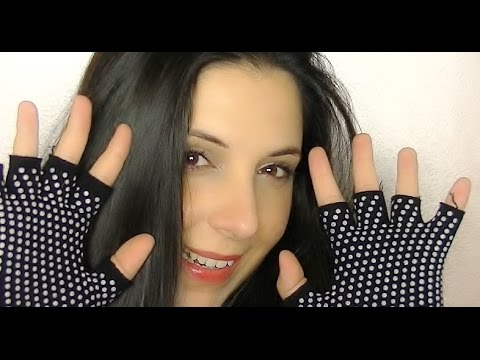 I Glove You So Much!  Binaural ASMR Glove Fest (Different Materials) On Your Ears For Relaxation