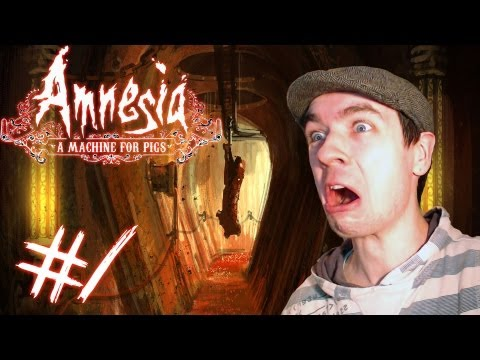 Amnesia: A Machine for Pigs - Part 1   ALREADY FREAKED OUT   Gameplay Walkthrough