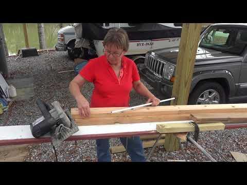 Homemade Portable Saw Sawmill DIY YouTube Video