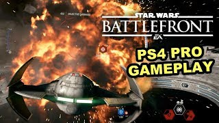 IMPERIAL SHIPS - Star Wars Battlefront II Gameplay (PS4 Pro - 1080p 60fps) Space Battle