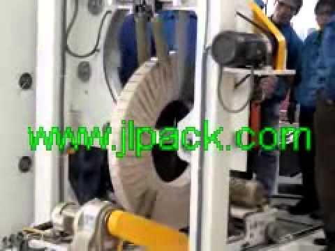 China сделал Оцинкованная сталь в рулонах упаковочную машину/спираль упаковочная машина для катушки