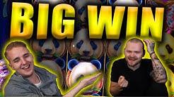 BIG WIN on PANDA'S FORTUNE - Casino Slots Big Wins