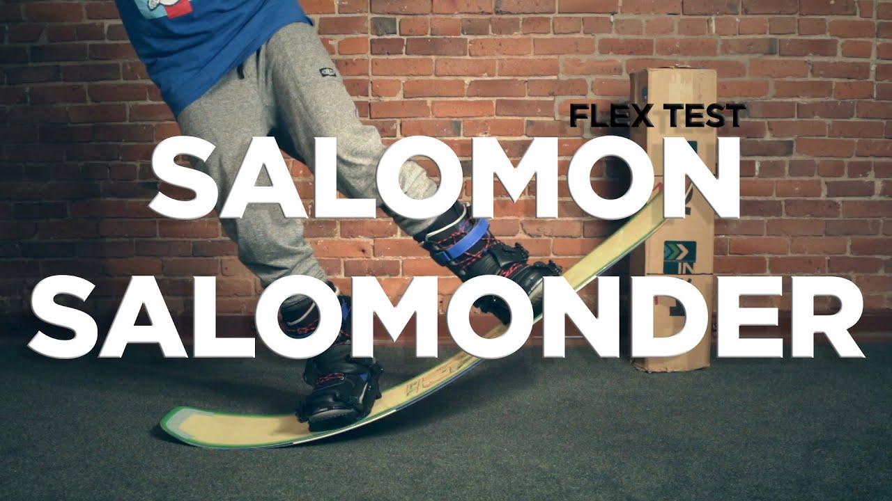 Salomon Salomonder Flex Test - Board Insiders - Flex of 2016 Salomon  Salomonder snowboard  4a4d05cfb5