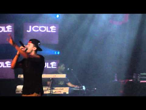 J Cole - Cheer Up ( First Time EVER Live )