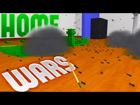 Home Wars - The Ant Exterminator - All Out Bug Warfare! - Home Wars Campaign Mode Part 2