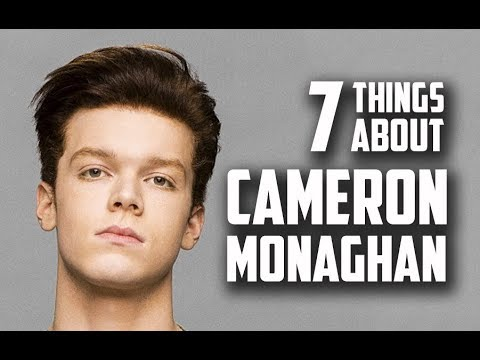 7 Things You May Not Know About Cameron Monaghan Ian Gallagher in Shameless