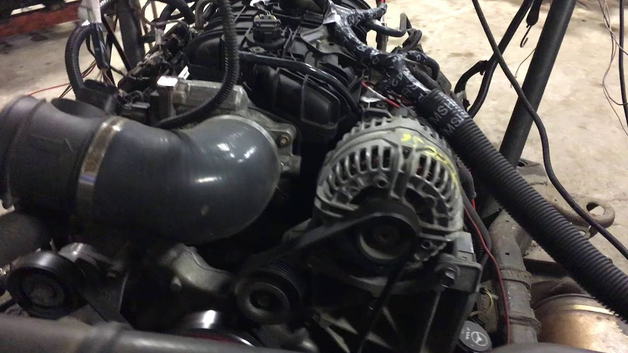 Stock   151174  U0026 39 08 Ly6 6 0l Chevy Ls Engine Running On