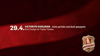 Kathryn Kuhlman -- nicht perfekt und doch gesegnet (ICF München Videopodcast)