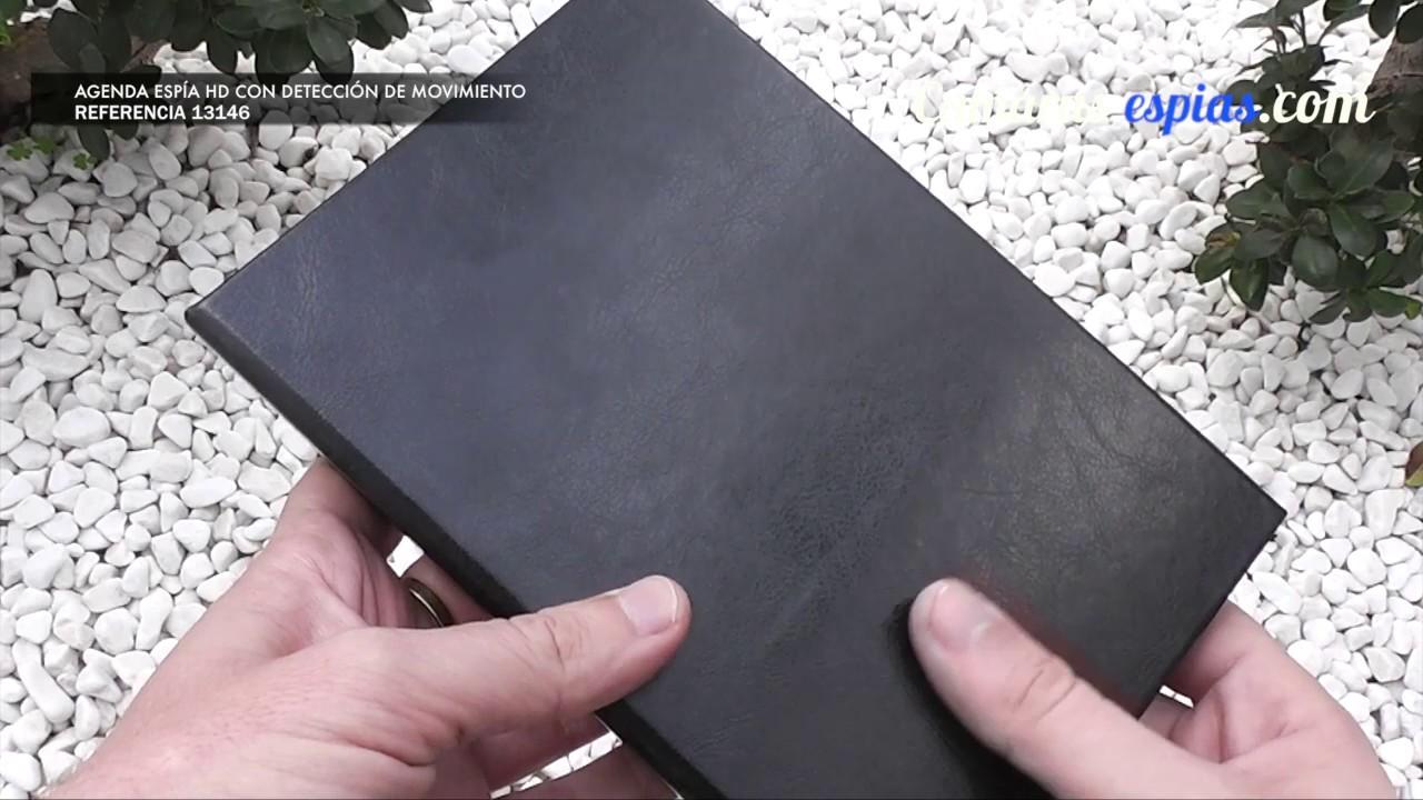 ▷ Manual de usuario de Agenda con Cámara Espía - Ref.13146