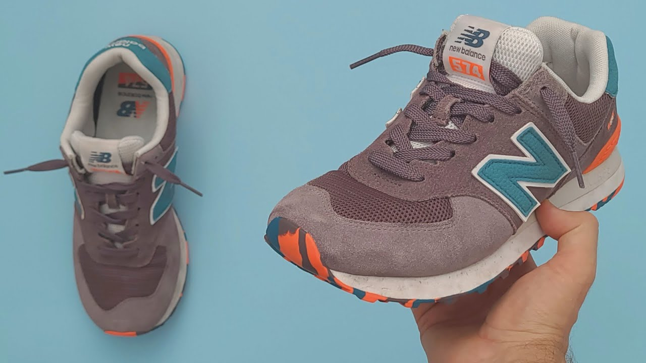 gancho Antemano altura  How To Cool Loosely Lace New Balance | New Balance 574 Lace Styles - YouTube