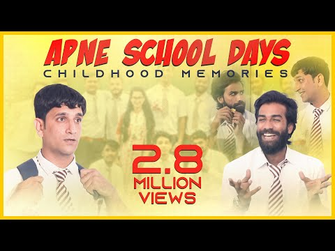 Apne School Days || Childhood Memories || Kiraak Hyderabadiz