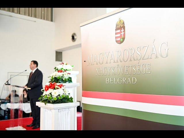 Republic Day of Hungary Marked