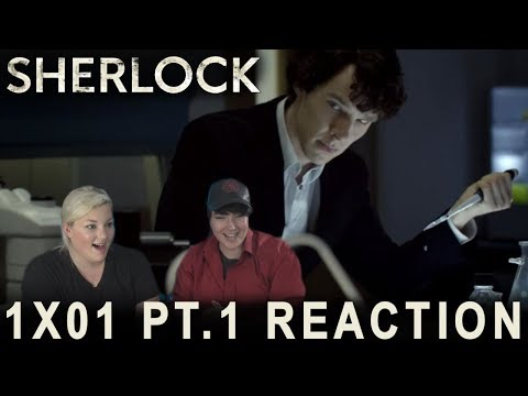 Sherlock 1X01 A STUDY IN PINK PT.1 Reaction