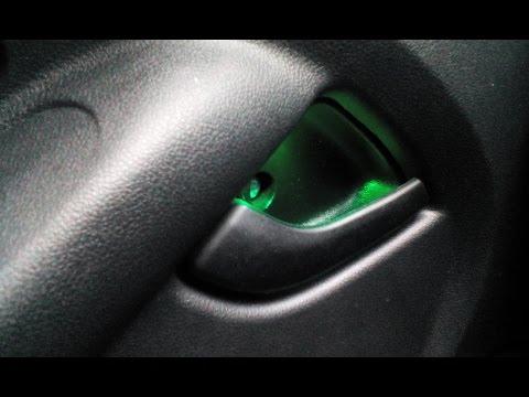 Светодиодная подсветка дверных ручек. Простой способ.