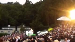 2012年8月25日播磨中央公園野外ライブ映像.