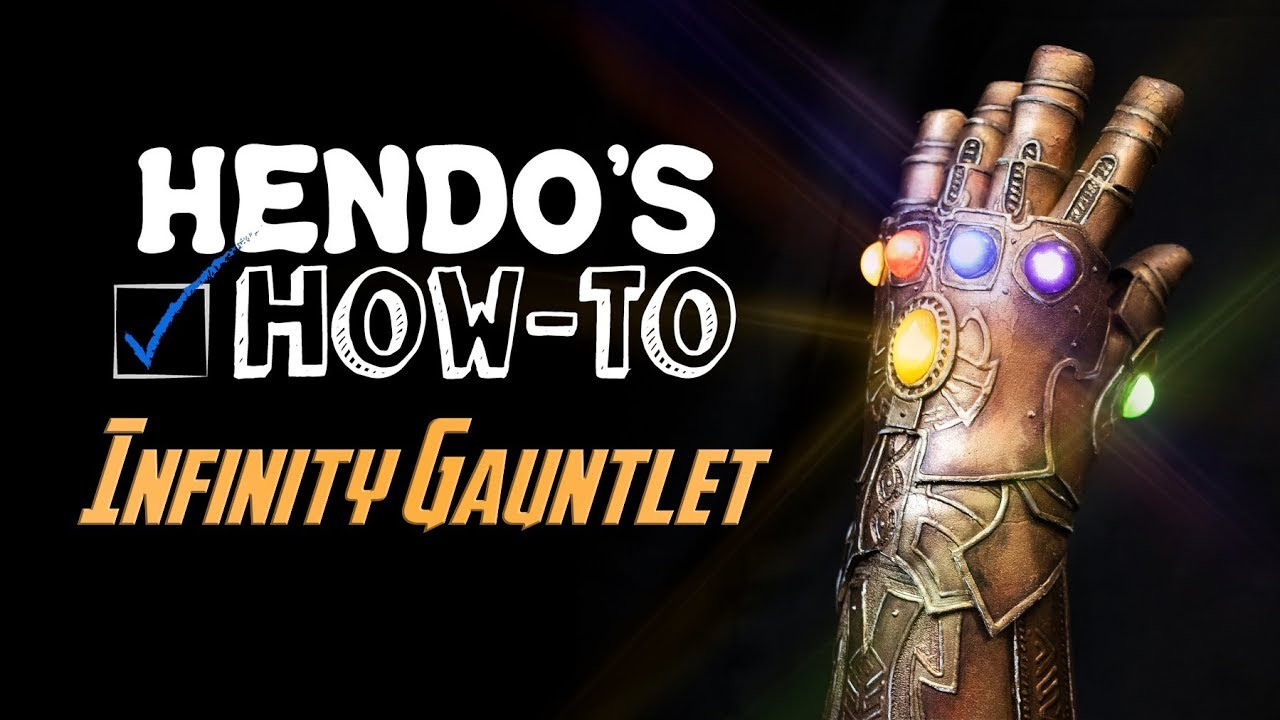 how to infinity gauntlet with pattern youtube