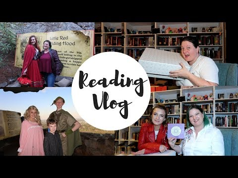 Reading Vlog April 9-15 Rock City / Date Night / Goddess Provisions