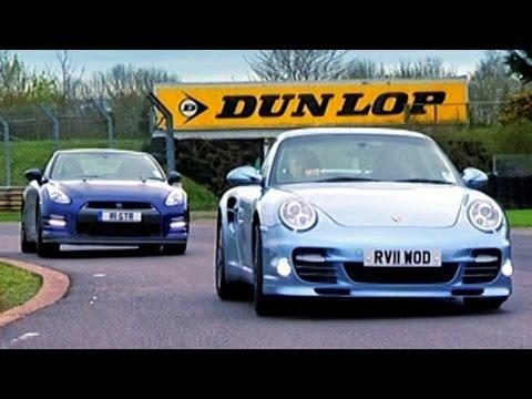 Nissan GTR vs Porsche 911 Turbo S - Fifth Gear