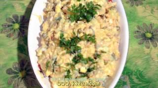 Оливье с жареным мясом, оригинальный рецепт, 482 развлечения для ума