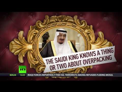 450+ tons of essentials: Saudi king sets off for month-long Asian trip