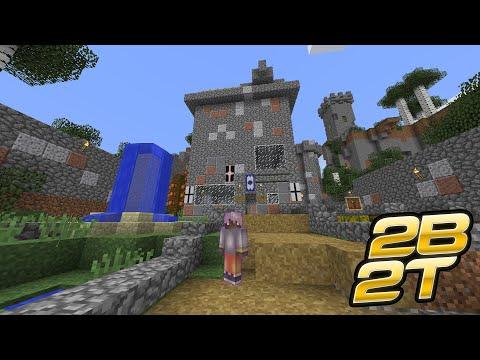 Построил отель на 2b2t | Выживание на сервере 2b2t Minecraft