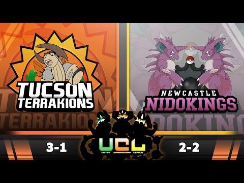 Pokémon ORAS LIVE Wi-Fi Battle [UCL S2W5] Tucson Terrakions vs Newcastle Nidokings