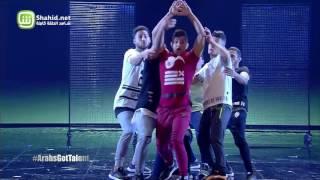 Arabs Got Talent- عرض النصف نهائيات – Free Run Gaza