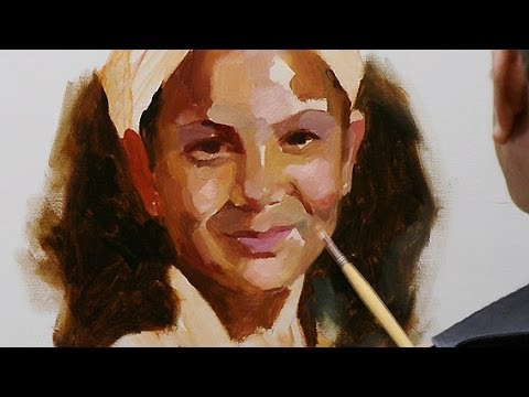 how to paint a portrait in oil paint summary of the long