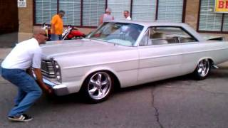 1965 Galaxie 500 Hot Rod Air Ride Suspension demo
