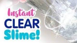 Как сделать прозрачный слай?!  | Стекло слайм своими руками из 2-х ингредиентов!!!