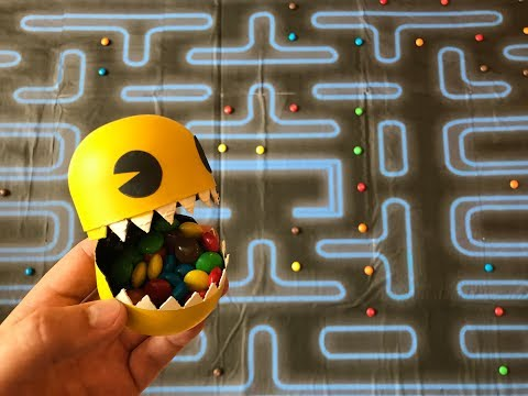 Hungry Monster Pacman. DIY