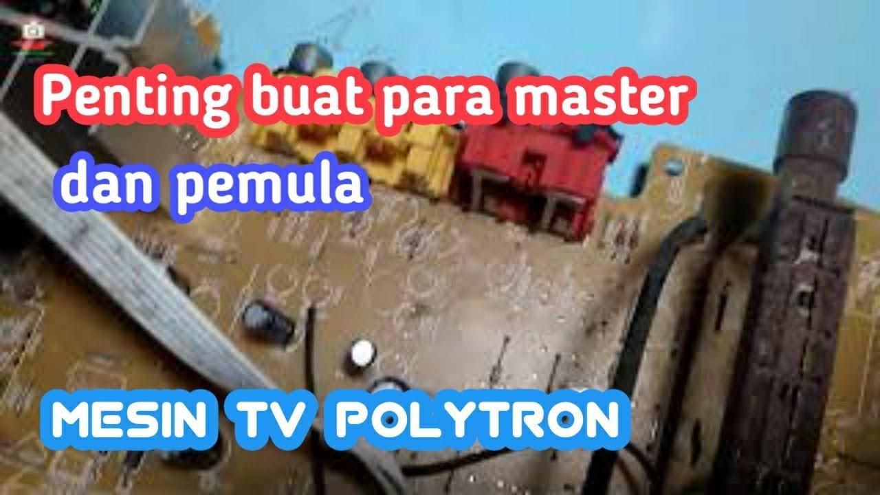 Mesin Tv Polytron Slim 21 Inch