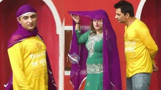 Amjad Rana with Sitara   Double Meaning Jugtein Stage Drama Comedy Clip 2020