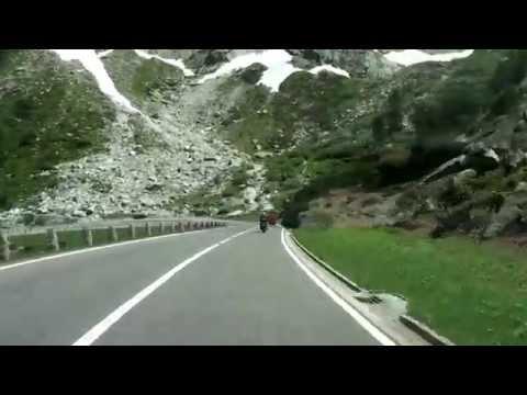 Driving in the Swiss Alps/ Furkapass/ Grimselpass/ 06.2014/ FullHD