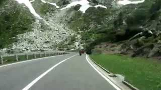 Driving in the Swiss Alps/ Furkapass/ Grimselpass/ 06.2014/ FullHD