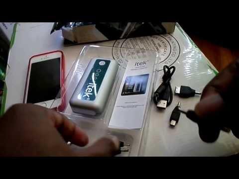 Itek 5600 mah power cell aka battery pack.