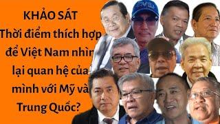 """🔥Bãi Tư Chính """"Dậy sóng"""" là lúc để Việt Nam nhìn lại quan hệ của mình với Mỹ và Trung Quốc?"""