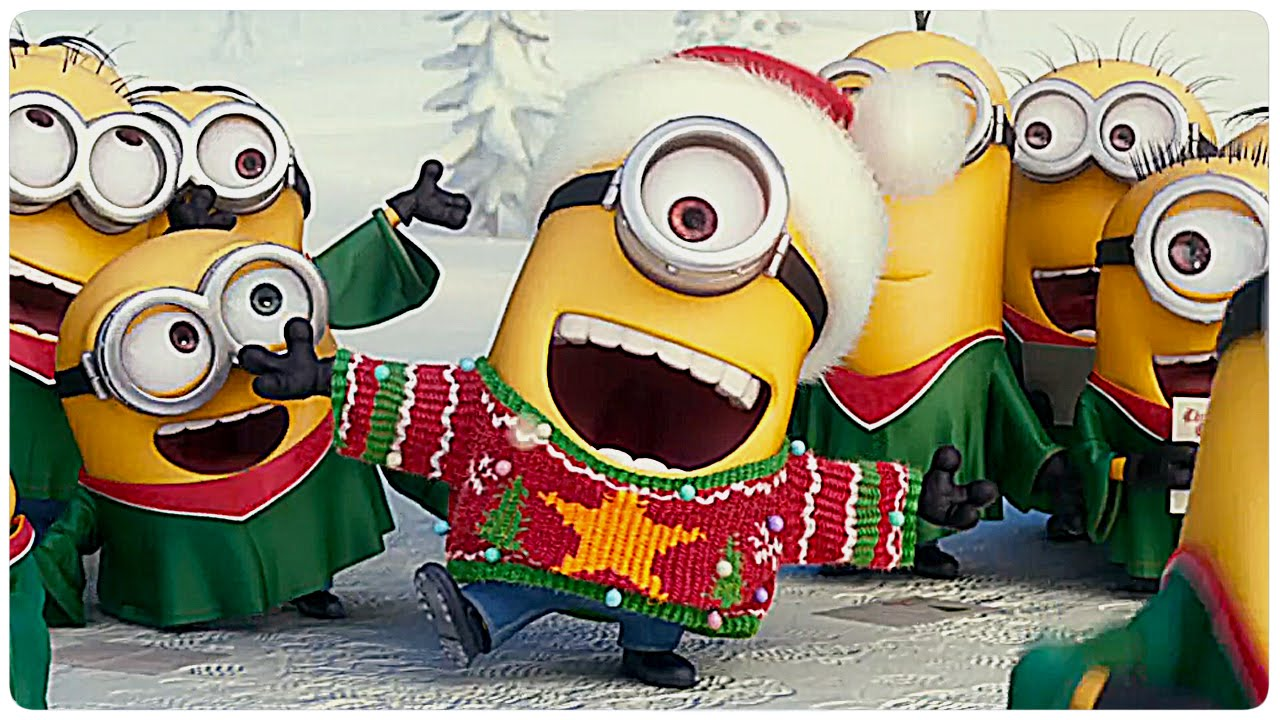 1 Advent Bilder Kostenlos Gif Minions Weihnachten Trailer Clip German Deutsch