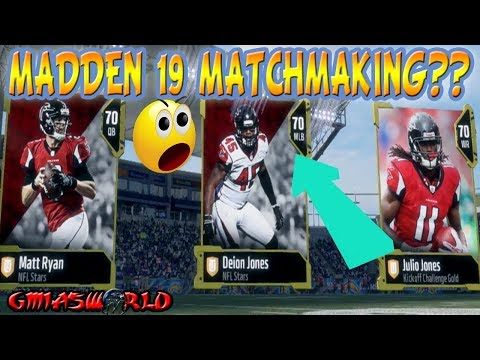 madden 18 matchmaking low medium high