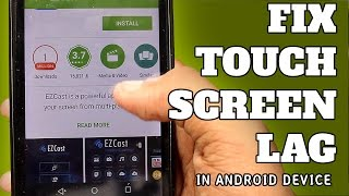 Repeat youtube video Fix Touch Screen Lag in Android (Micromax Unite 2)