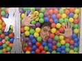 I Spent 24 Hours Straight In Ball Pit Shower (Ball Pit Shower DIY)