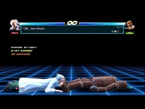 Tekken Tag Tournament 2 Doctor Bosconovitch Full Movelist