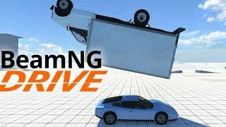 Lajwidło (#77) - Rozwalanie losowo wybranych aut | BeamNG.drive