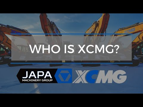 Who Is XCMG Canada - JAPA Machinery Group | Heavy Equipment Rentals & Sales Edmonton | 780-962-5272